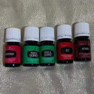 5 Young Living Oils New Peace & Calming Plus